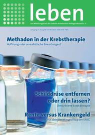 """Titelblatt """"leben"""" Ausgabe 03+04/2016"""